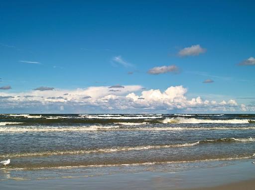 Blick aufs Meer.